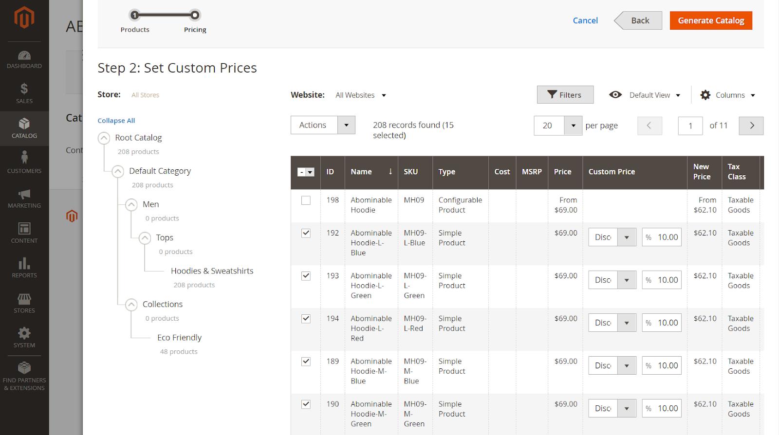 set-custom-prices