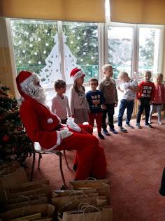 Słoneczka: Spotkanie z Mikołajem