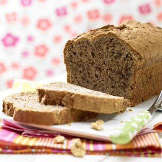 Banana Bread with Walnuts.