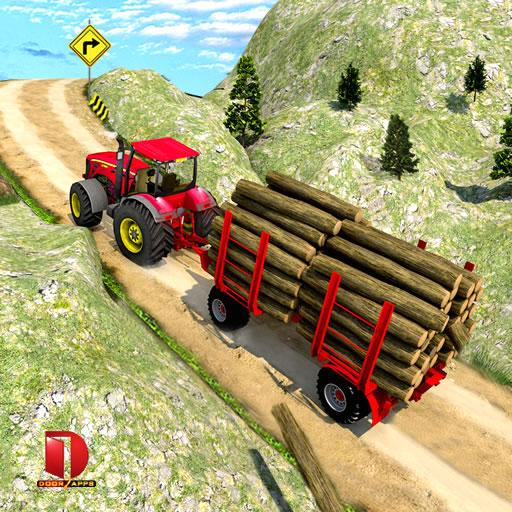 Drive Tractor trolley Offroad Cargo- Free Games