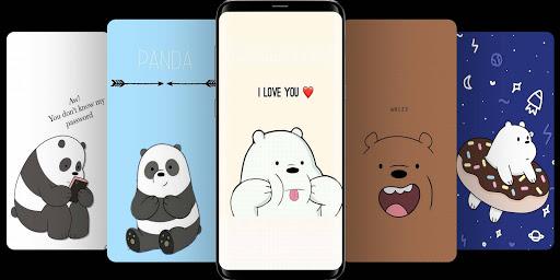 Cute Bear Cartoon Wallpaper screenshot 6