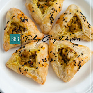 Turkey Curry Pastries.
