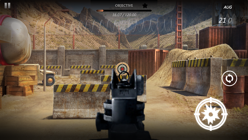 Code Triche Canyon Shooting 2 - Champ de tir gratuit APK Mod screenshots 1