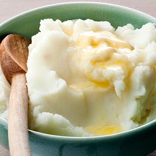 Bay Leaf Mashed Potatoes.