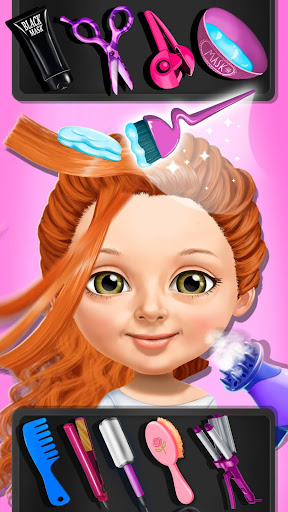 Télécharger Gratuit Sweet Baby Girl Beauty Salon 3 - Hair, Nails & Spa APK MOD (Astuce) screenshots 5