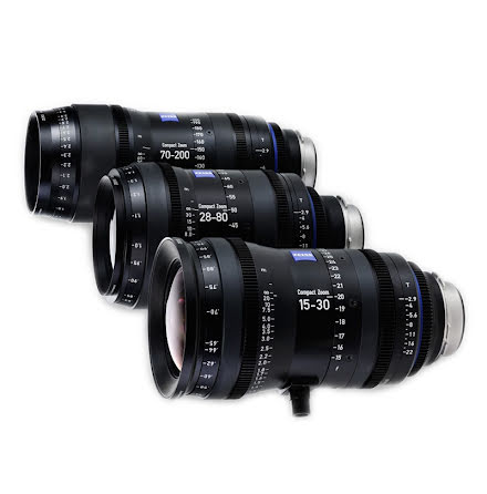 Zeiss Compact Prime Zoom 2.9/70-200 mm PL Metric