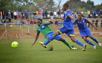 Photo: Ibrahim Kallay [Leone Stars v Swaziland 18 May 2014 (Pic: Darren McKinstry)]
