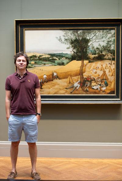 Bruegel Moissonneurs en situation