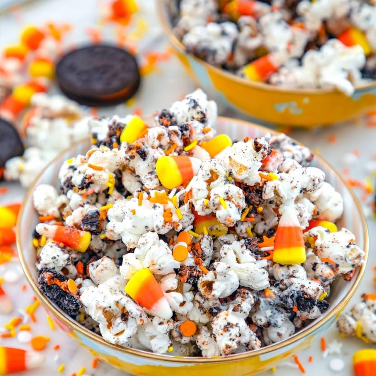 Halloween Party Popcorn