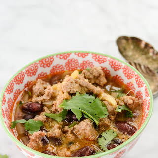 Turkey Sweet Potato Chili.