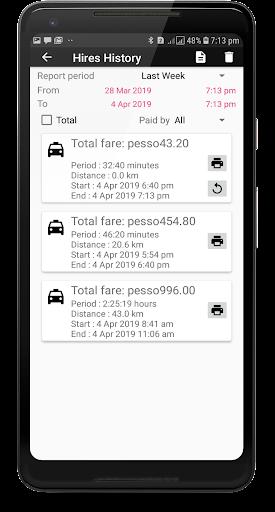 TAXImet - Taximeter 4.3 screenshots 5