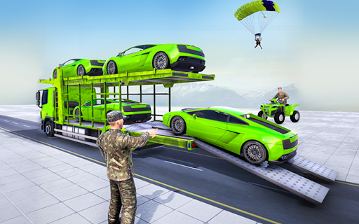 Army Vehicles Transport Simulator:Ship Simulator screenshot 8