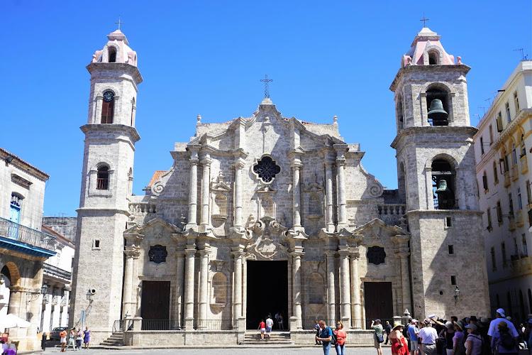 Catedral de San Cristobal in Old Havana was completed in 1777.