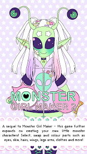 Monster Girl Maker 2 Mod Apk (Full Unlocked) 1