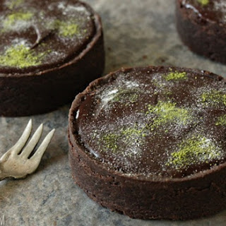 Matcha Chocolate Tarts