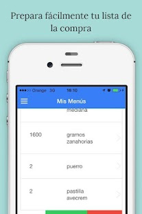 Rcetas - Menu Planner- screenshot thumbnail