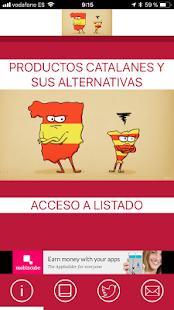 Productos catalanes y alternativas - náhled
