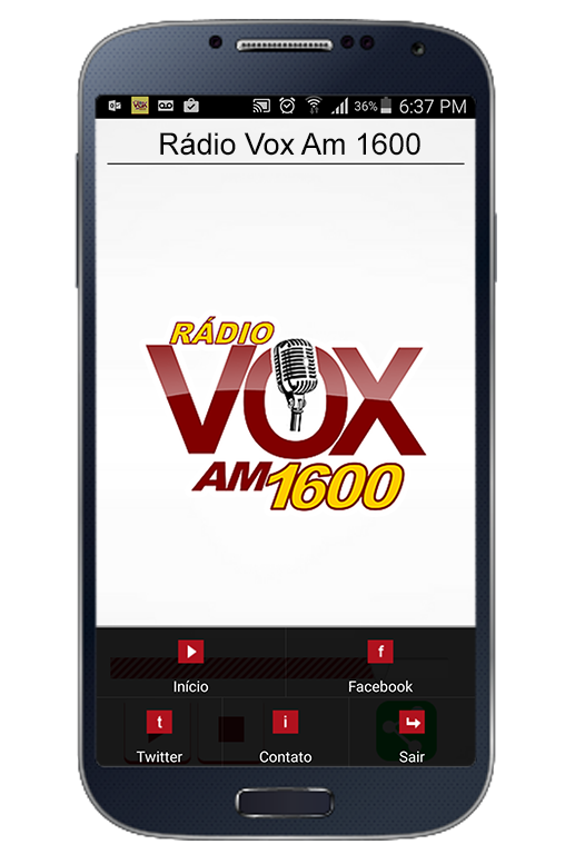Rádio Vox Am 1600- screenshot
