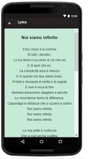 Alessio Bernabei Songs+Lyrics - náhled