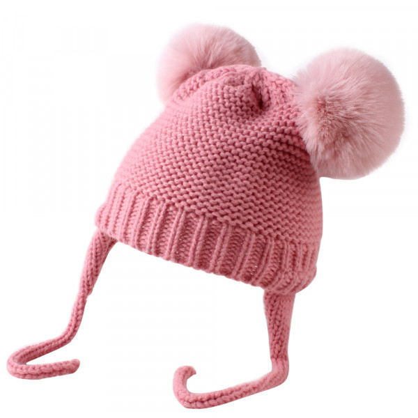 Baby Unisex Little Mouse Knitted Hat