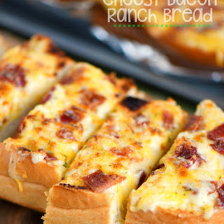 Cheesy Bacon Ranch Bread.