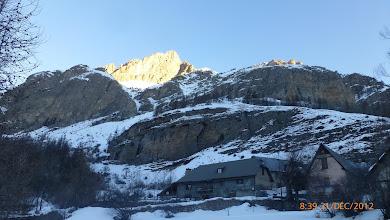 Photo: vue du bas de Bayasse