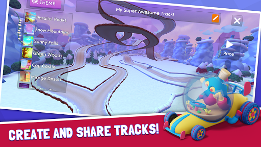 Download Starlit On Wheels: Super Kart on PC & Mac with AppKiwi APK