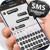 Simple Chat White Black Keyboard Android APK Download Free By TM Best Cool Theme