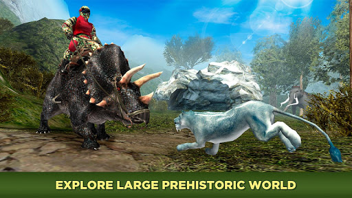 Evolved Dino Rider Island Survival screenshot 4