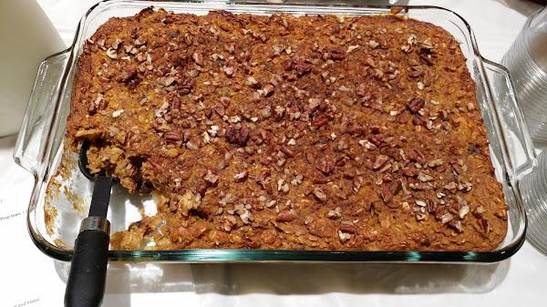 Fall Baked Oatmeal Recipe