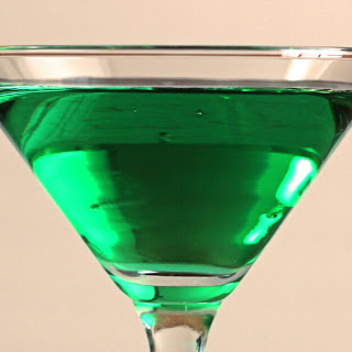 Emerald Isle Cocktail.