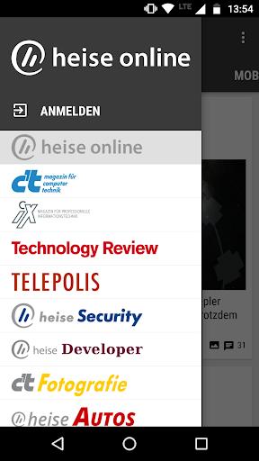 heise online - News 3.4.2 screenshots 7