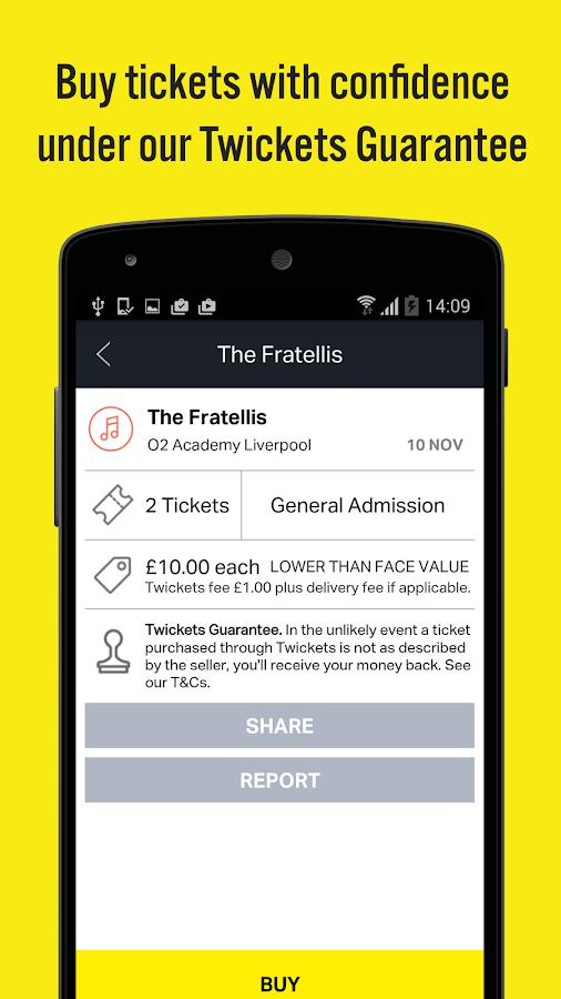 Twickets - Ticket Exchange- screenshot