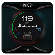 Black V3  theme for CarWebGuru Launcher