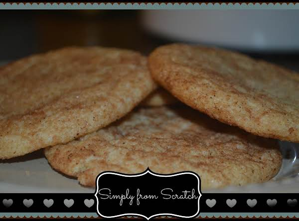 Chewiest Snickerdooodle Cookies Ever!!