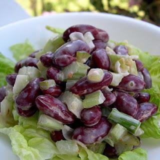 Crunchy Kidney Bean Salad.