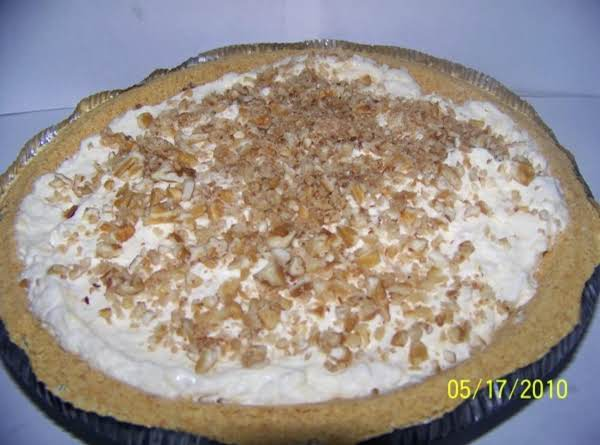 White Chocolate Pie