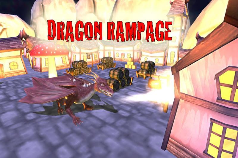 Скриншот Dragon Rampage