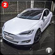 Model S: Extreme Super Electric Car Drift && Stunt
