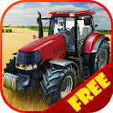 Harvest Day: Farm Tractor 3D icon
