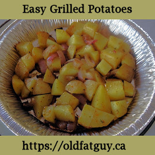 Easy Grilled Potatoes.