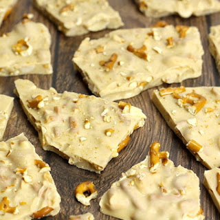 Peanut Butter Pretzel White Chocolate Bark Recipe