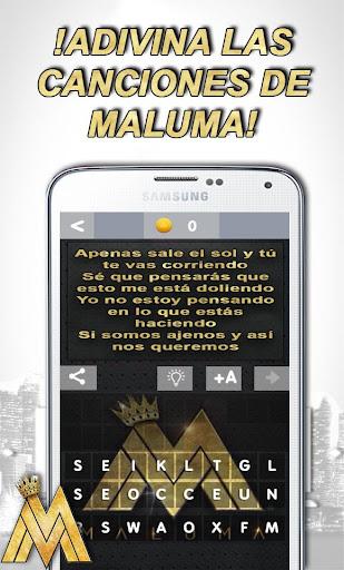 Maluma ? Adivina la Canción de Maluma screenshot 3