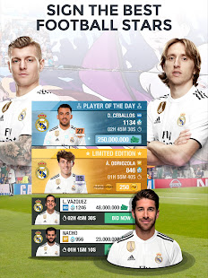 Game Real Madrid Fantasy Manager'19- Real football live APK for Windows Phone