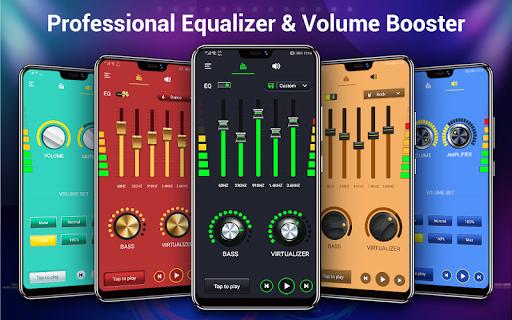 Volume booster - Sound Booster & Music Equalizer 1.1.3 screenshots 1