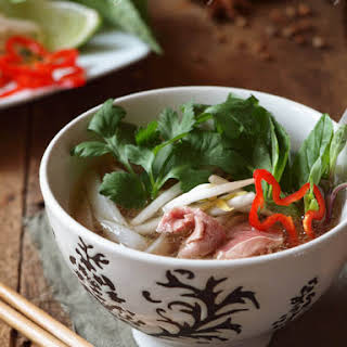 Pho (Vietnamese Beef Noodle Stew).