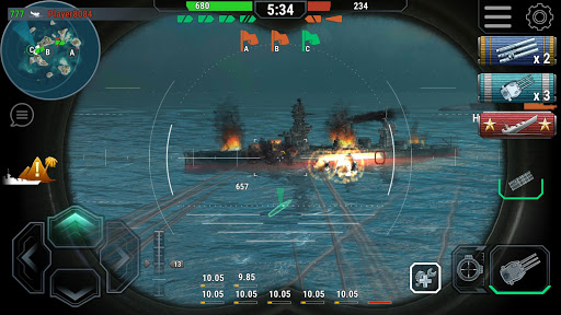 Warships Universe: Naval Battle 0.7.1 screenshots 2