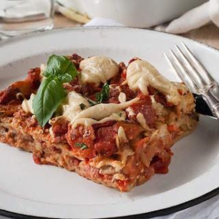 Gluten Free Vegan Lasagna.