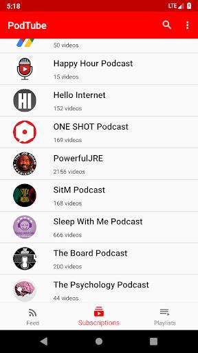 PodTube screenshot 1