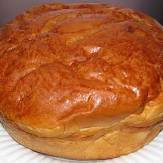 Portuguese Sweet Bread (Massa Sovada).